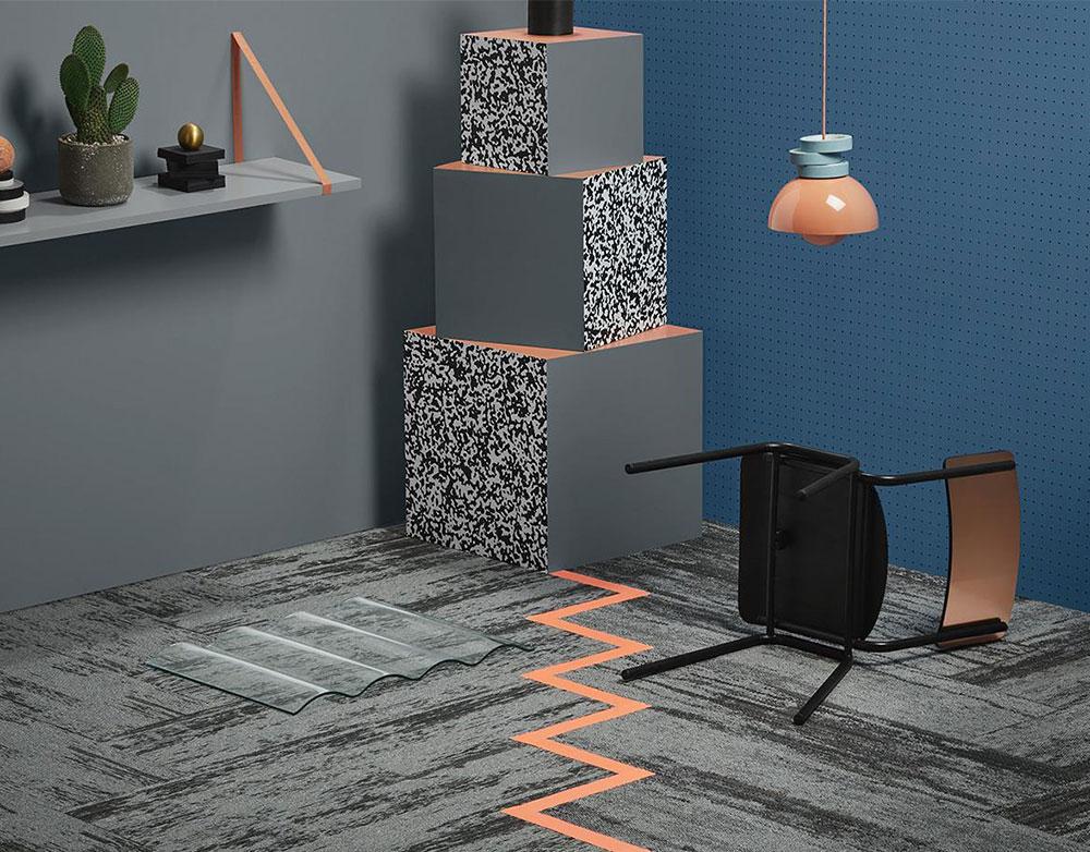 Hard Graft Shaded Carpet Tiles